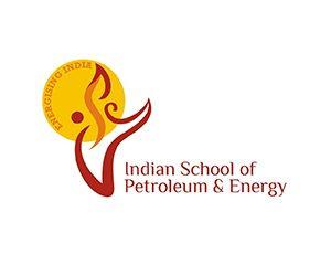 indian-school-of-petroleun-energy-logo-design