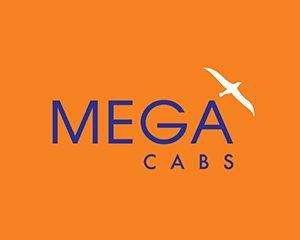 mega-cabs-logo-design