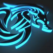 3d effect logo designs